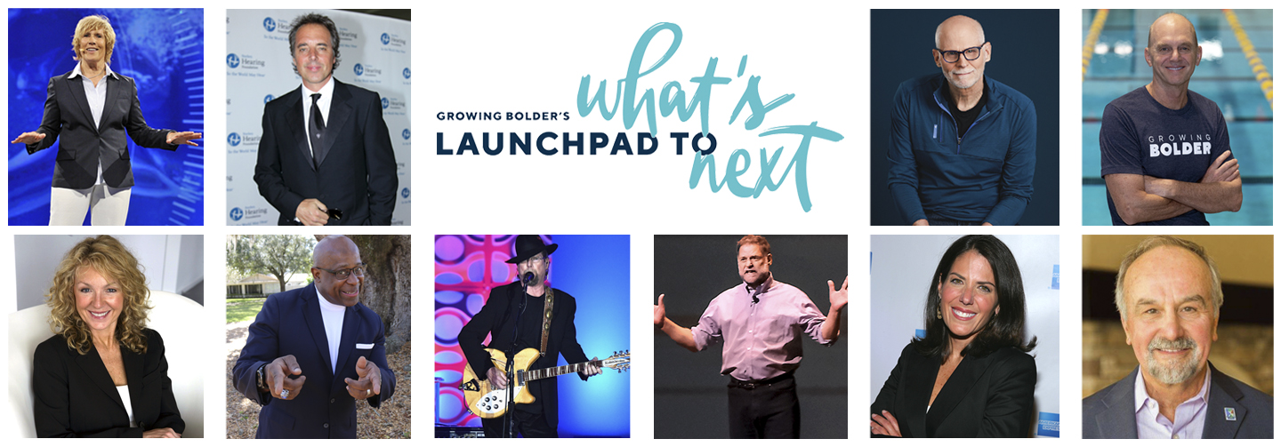 Check out the new pledge special Growing Bolder's Launchpad to What's Next