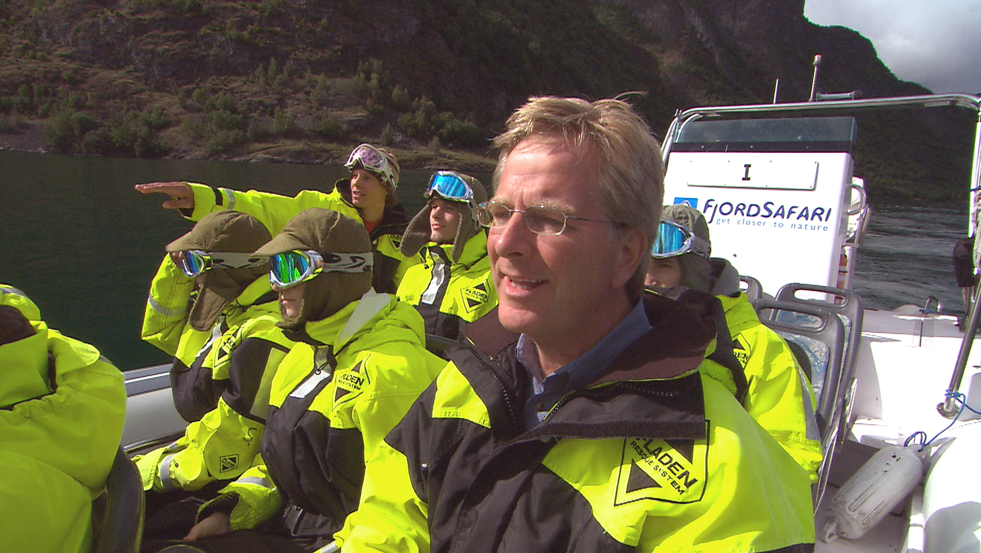 Rick Steves among the fjords