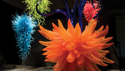 Learn about the MFA's Chihuly exhibit