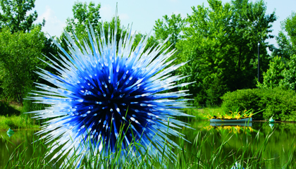 Blue Moon by Dale Chihuly