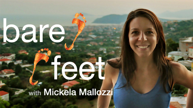 Preview the debut season of Bare Feet with Mickela Mallozzi