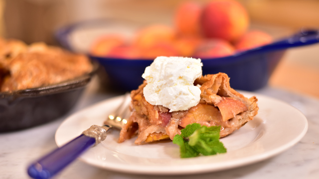 This season's recipes are always delicious and seasonal, from shaved beet salad to peach pie.