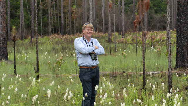 Patrick McMillan explores the Apalachicola National Forest.