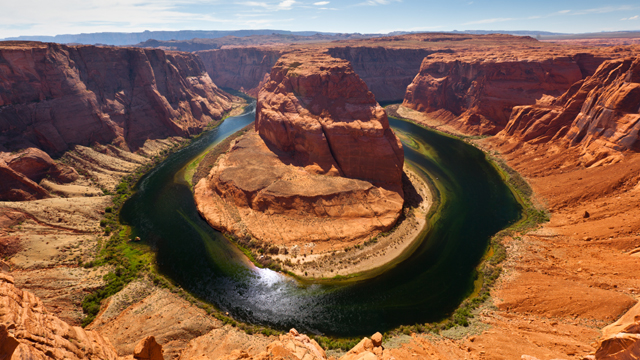 Horseshoe Bend located near the town of Page, Arizona.