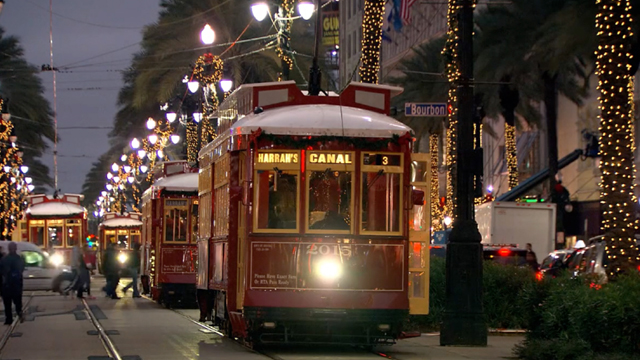 A festive holiday special showcasing the music, sights and cuisine of New Orleans.