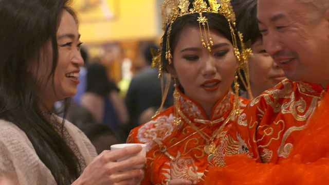 A wedding in San Francisco's Chinatown