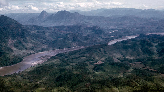 The mountains of Laos