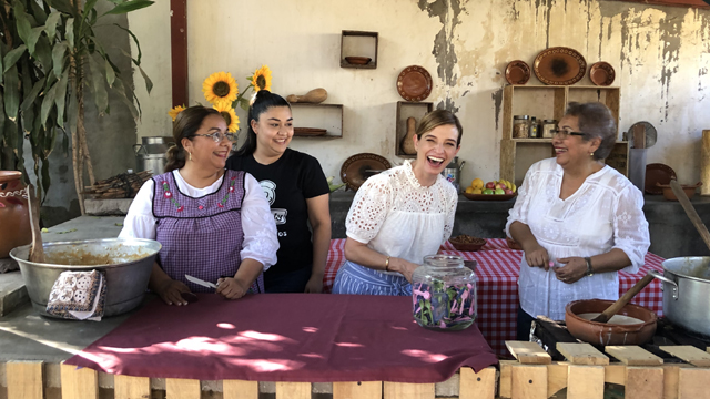 Part travelogue, part cooking show, PATI'S MEXICAN TABLE explores the food, culture and history of Mexico