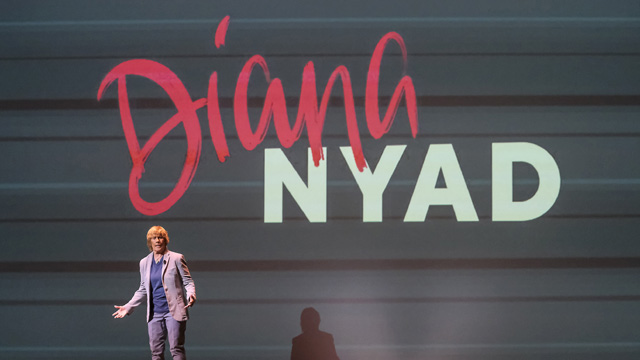 Preview Diana Nyad's speech on never giving up