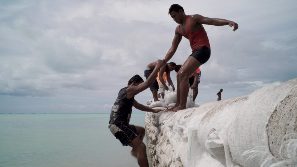 Anote's Ark confronts the impending annihilation of Kiribati by rising sea levels