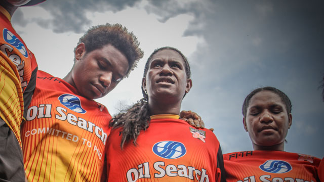 In Power Meri, Papua New Guinea's first national women's rugby league team competes in the World Cup