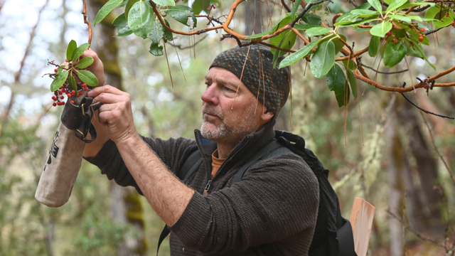 Host Les Stroud, the star of TV's Survivorman