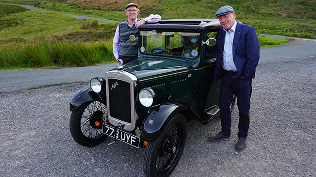 Christopher Timothy and Peter Davison hit the road again